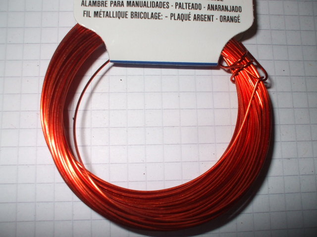 Copper craft wire choice of colour 30ft x 22 gauge for 22 gauge craft wire