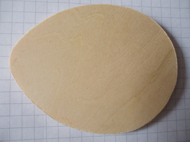 Birch ply wooden egg wood craft shape for Wooden eggs for crafts