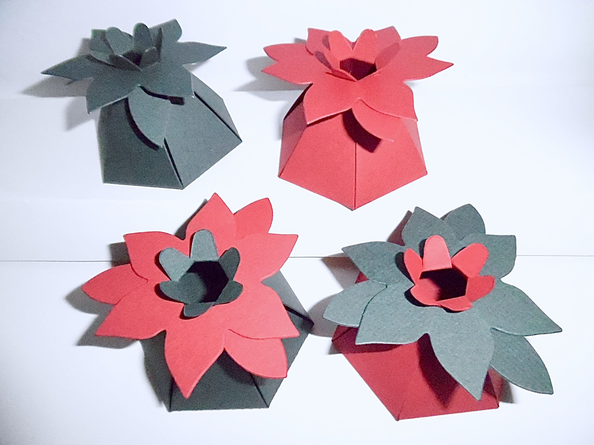 Origami Christmas Poinsettia Flower Folding Instructions - Kids ... | 1488x1984